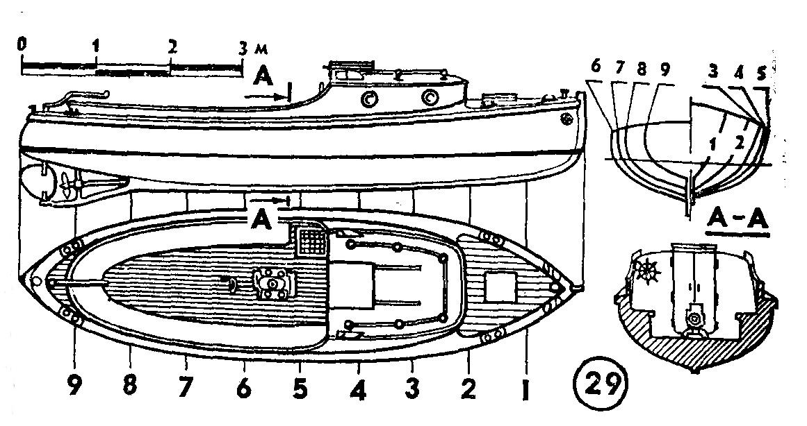 лодка кореец чертежи