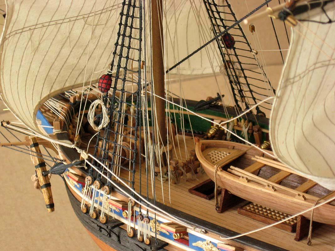 Как сделать парусный корабль